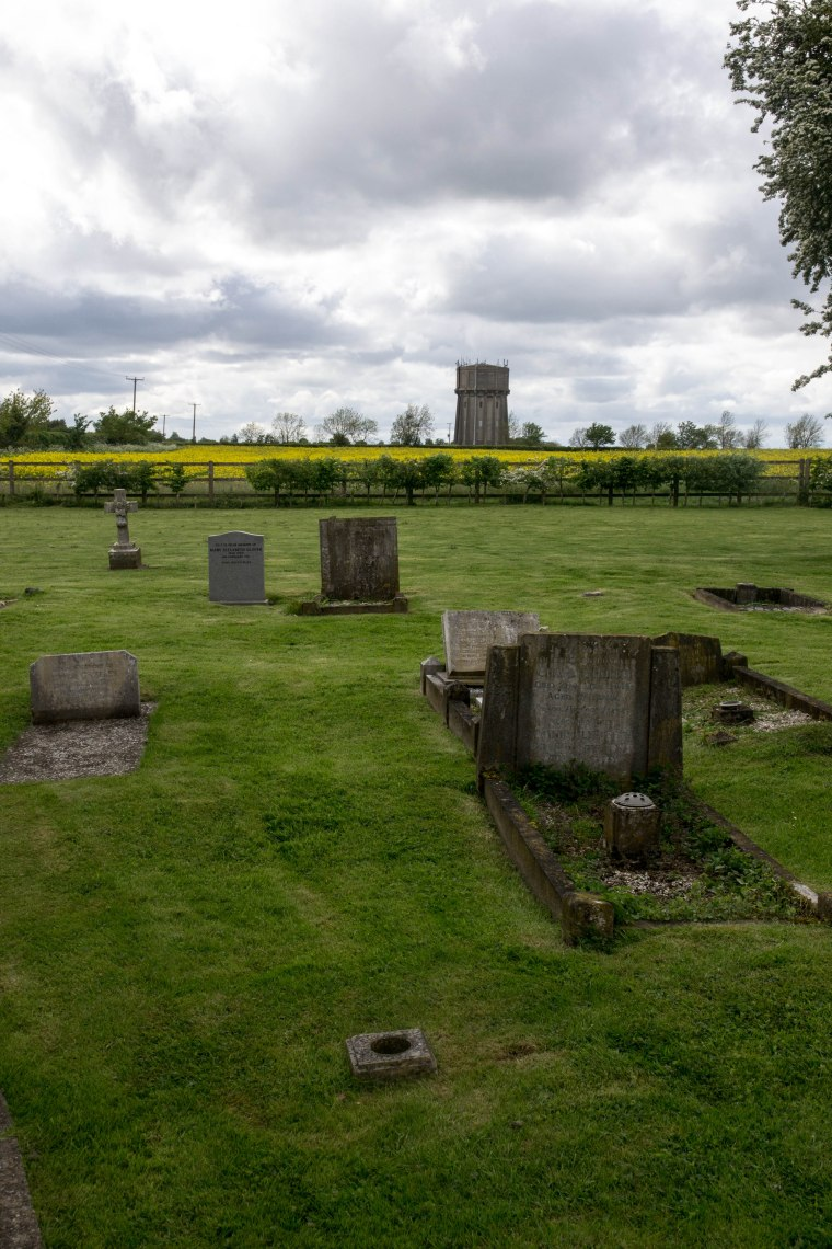 THE GRAVEYARD AND THE WATER TOWER